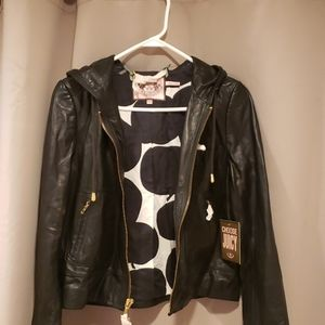 Juicy Couture 100% leather Jacket